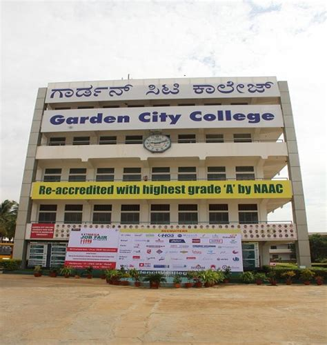 Garden City College Mba In Bangalore by Garden City College Of Science And Management Studies