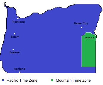 oregon time zone map   adriftskateshop