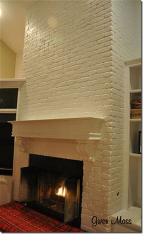Change Color Of Brick Fireplace by 1000 Images About Painted Fireplace Inspiration On
