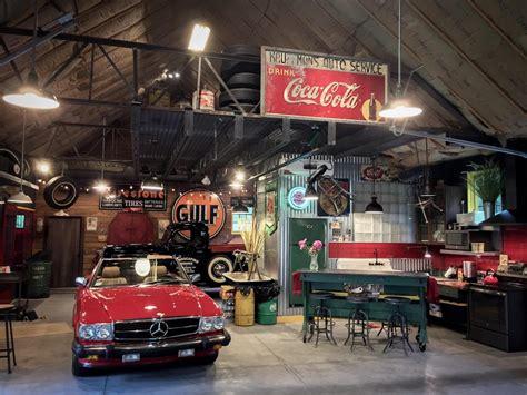 antique garage themed acvap homes idea to set up an