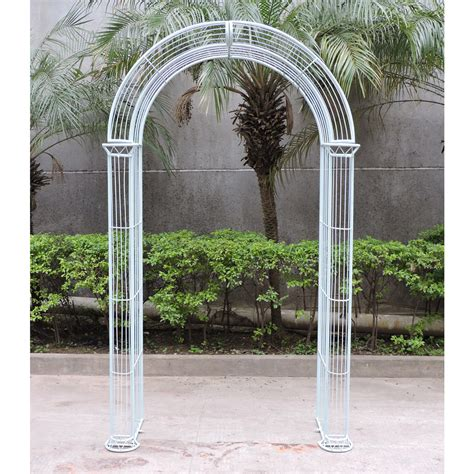 Garden Arch Perth Charles Bentley Wrought Iron Pastel Garden Arch Outdoor