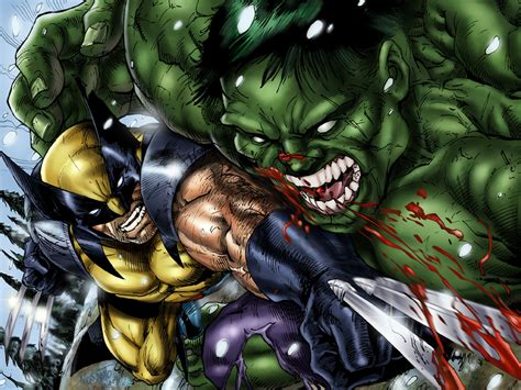 imagenes de wolverine vs superman wallpaper of the week wolverine vs hulk quaedam