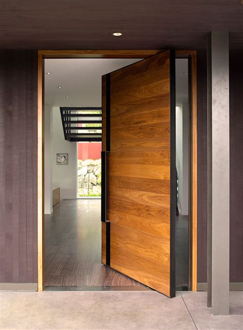 modern home doors size matters large pivot doors know how to stand out