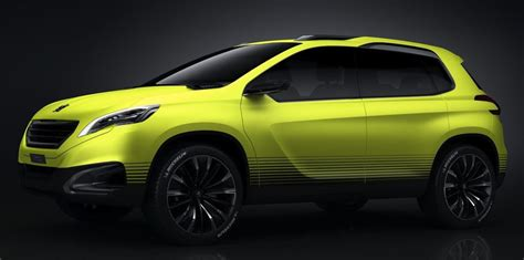peugeot compact car peugeot 2008 concept previews new compact suv