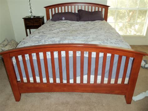 mission style bed frames bed frame mission style in moving sale 78741 s