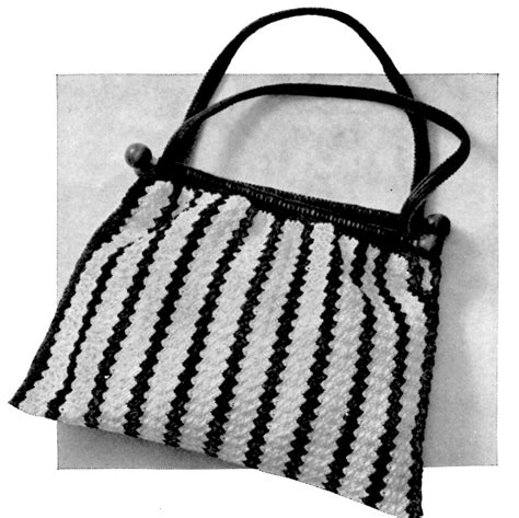 crochet thread bag pattern free crochet bag pattern to hold your knitting a crocheted