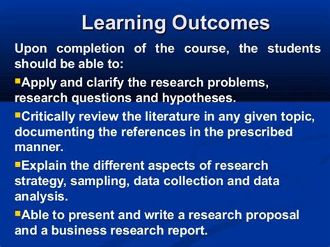 Business Research Projects For Mba by Mba2216 Business Research Project Course Intro 080613