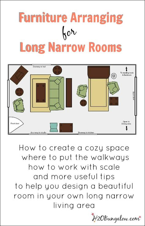 How To Place Furniture In A Narrow Living Room by 17 Best Ideas About Narrow Living Room On