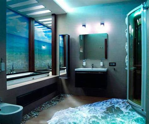 3d bathroom design turn any room into a stunning work of with 3d epoxy flooring