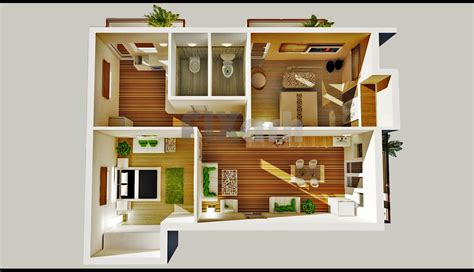 2 Bedroom House Floor Plans bedroom house plans designs 3d small house jpg