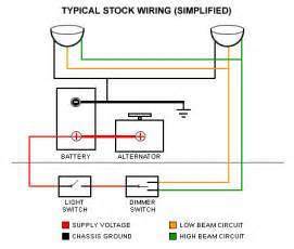 wiring relays for halogen headlights relays free printable wiring diagrams
