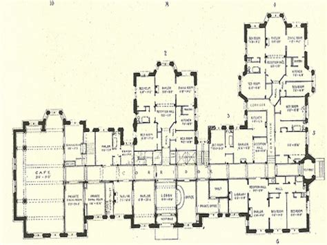 Old Mansion Floor Plans | luxury mansion floor plans historic mansion floor plans