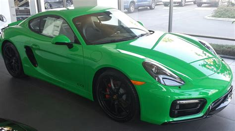 porsche signal green signal green cayman gts rennlist discussion forums