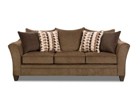 Albany Upholstery by Albany Chestnut Sofa And Loveseat By Simmons