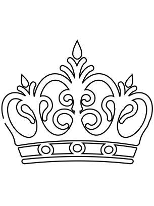 queens crown coloring page royal crown coloring sheets paper crafts pinterest