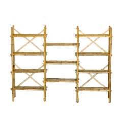 lowes wood shelving shop bamboo 54 62 in h x 80 in w x 15 in d 11 tier wood