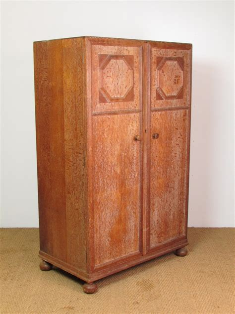 heal s limed oak fitted compactum wardrobe antiques atlas