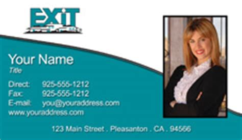 free exit realty real estate business cards template real estate business cards exit realty gallery card