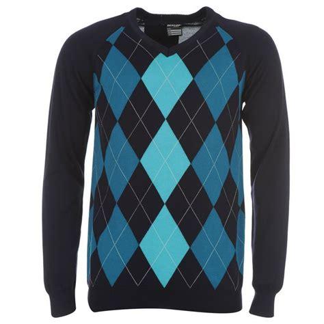 golf jumper pattern name dunlop mens clothing argyle v neck golf sweater check