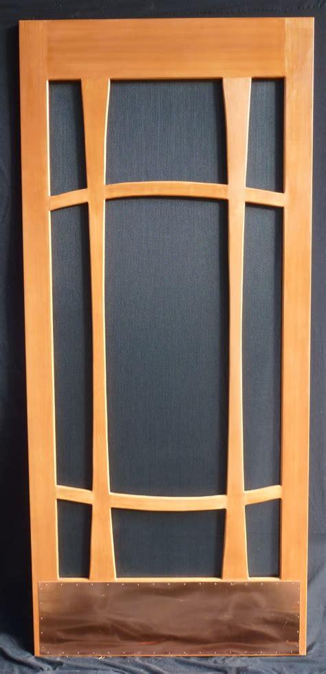 choose  wooden screen door choosing