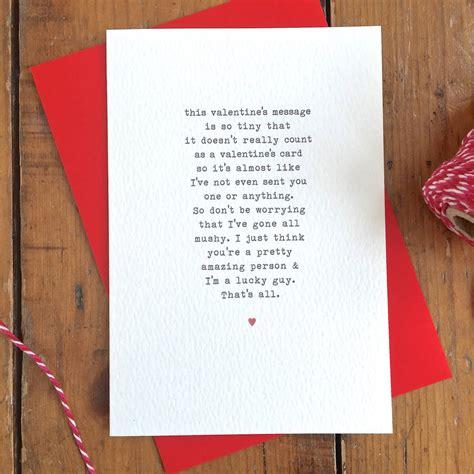 awkward valentines card awkward non mushy s card by arbee