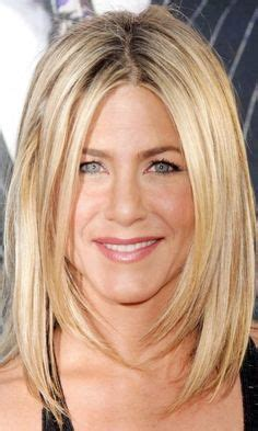 jennifer aniston long face frame haircut long bob with face framing layers ends just under the