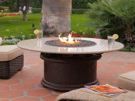 outdoor furniture with pit table patio table with pit built in costco 28 images