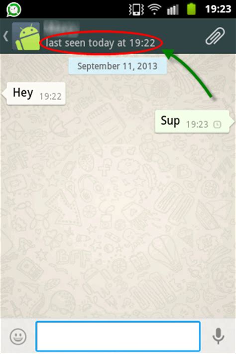 hide   time stamp  whatsapp android app