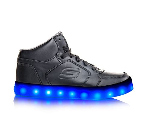 skechers light up shoes on off switch kids skechers energy lights 10 5 7 light up sneakers