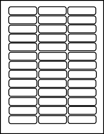 Lto Tape Labels 2 5 16 X 5 8 Inches 25 Sheets Lto42 Cassette Label Template
