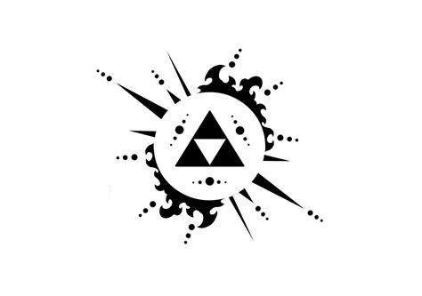 zelda triforce tattoo design cool triforce the legend of