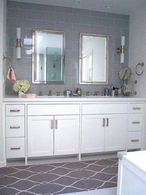 gray bathroom contemporary bathroom carla lane interiors