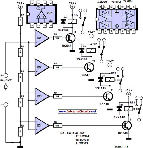 subwoffer wiring diagram voltage levels relays