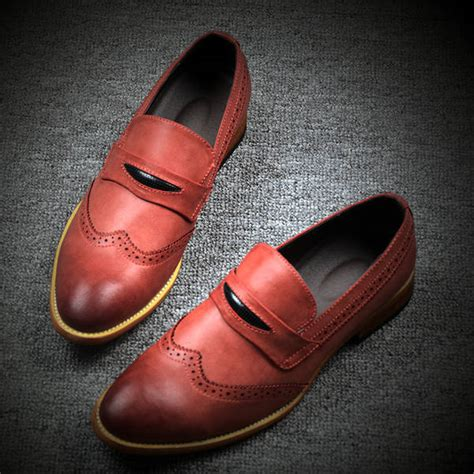 Korean Addicted Leather Shoea 2015 new arrival leather shoes korean style handsome