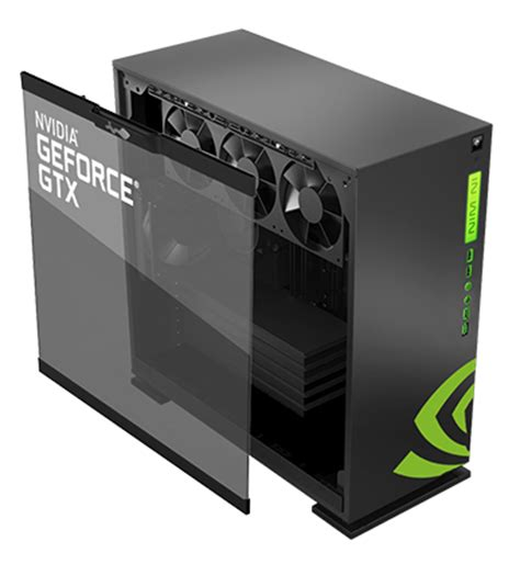 Nvidia Design Garage in win and nvidia 303 atx chassis geforce