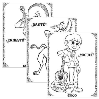 coco coloring book disney pixar coco coloring pages for boys and books disney pixar coco coloring pages the disney belles