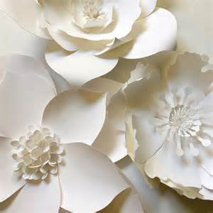 Paper Flower Wall Decor by Paper Flower Wall Decor Large Paper Flower Backdrop By