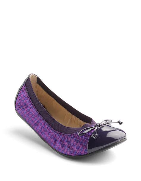 Verona Pink Flatshoes adrienne vittadini verona snakeskin print ballet flats in purple lyst
