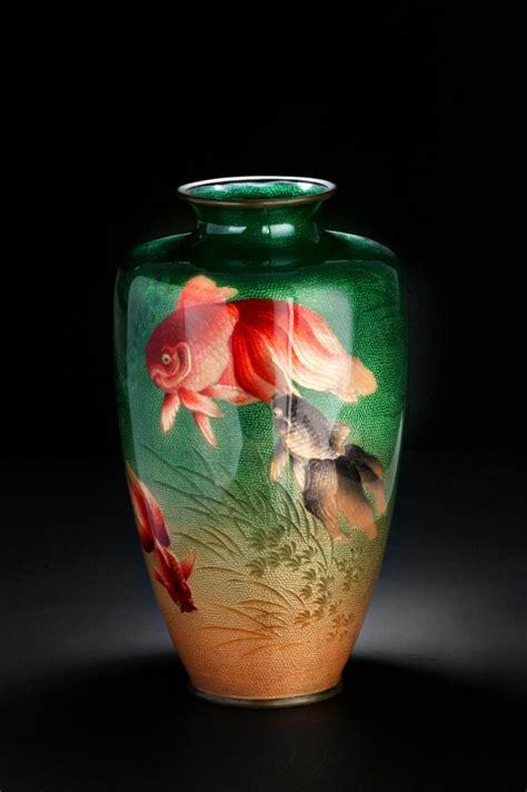 Japanese Cloisonne Vase Value by A Japanese Cloisonne Vase Meiji The Dale Frank