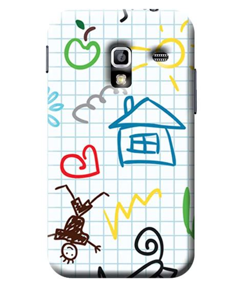 doodle runner galaxy ace garmor doodle design plastic back cover for samsung galaxy