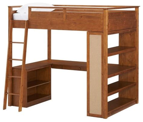 Furniture Loft Bed by Sleep Study Loft Bed Modern Loft Beds By Pbteen