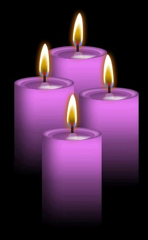 4 Lavender Candles by Blood Huntress on DeviantArt