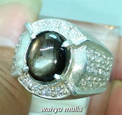 Batu Cincin Blak Safir batu cincin black safir bangsing kresnadana asli