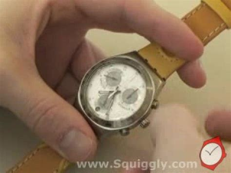 Jam Tangan Swatch V8 swatch chrono calibration