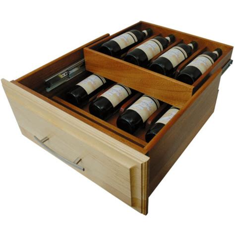 Ccf Drawers drawer organizer specialty wine drawer with all wood