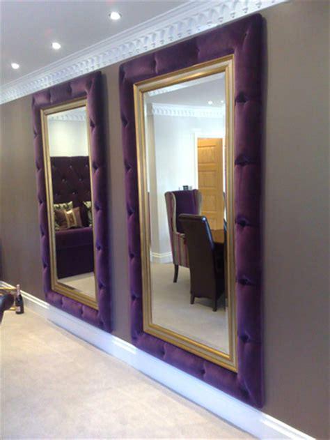 Beautifully Designed mirror frame surrounds woodcliffe upholstery lancashire