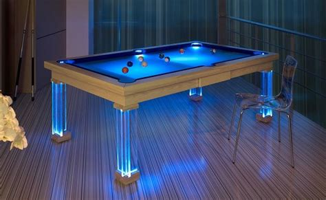 cool pool table bachelor pad design