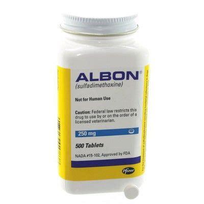 albon for dogs albon sulfadimethoxine liquid and tablets for pets vetrxdirect
