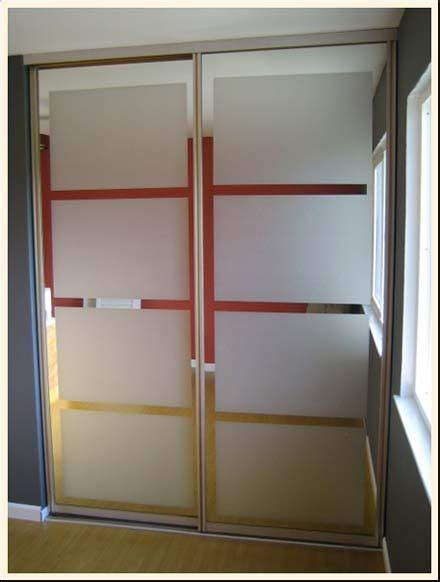 Closet Mirror Doors Idea Updating Mirrored Closet Doors With Decals Trading Phrases