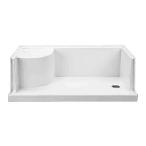 schrank 60 x 30 mti mtsb 6030seated multi threshold shower base with seat